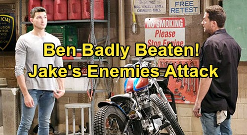 Days of Our Lives Spoilers: Ben Attacked by Jake's Enemies, Knocked Out Cold - Thugs Send Dangerous Message at Garage
