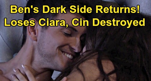Days of Our Lives Spoilers: Ben's Dark Side Returns - Derails Ciara Wedding, Loses 'Cin' Happy Future?