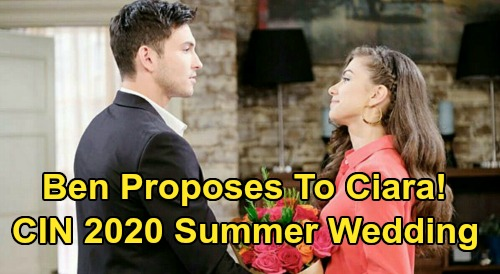 Days of Our Lives Spoilers: Ben Proposes Marriage After Ciara Catches Jordan's Murderer - CIN Summer Wedding In 2020?