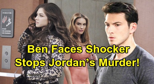 Days of Our Lives Spoilers: Ben Panics, Races to Stop Jordan's Murder – Another Driver Revealed in Ciara's Near Hit-and-Run