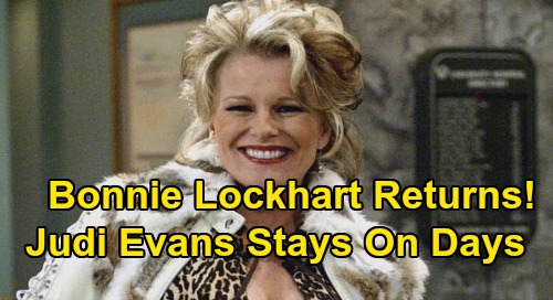 Days of Our Lives Spoilers: Bonnie Lockhart Returns – Adrienne's Death Isn't the End of Judi Evans' Run, DOOL Star Sticking Around