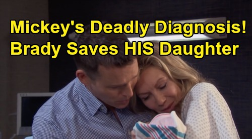 Days of Our Lives Spoilers: Mickey's Devastating Diagnosis – Brady Puts Clues Together, Saves His Real Daughter?