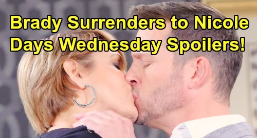 Days of Our Lives Spoilers: Wednesday, August 7 – Stefan Arrested – Kate Faints Over Tony – Brady Surrenders to 'Nicole'