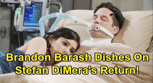 Days of Our Lives Spoilers: Brandon Barash Wraps At DOOL - Dishes On Stefan DiMera's Return