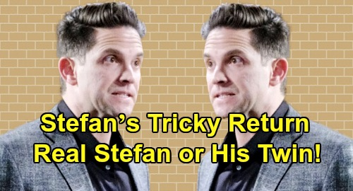 Days of Our Lives Spoilers: Brandon Barash's Tricky Return – Is DOOL Bringing Back Real Stefan or Stefan's Twin?