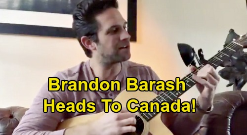 Days of Our Lives Spoilers: Brandon Barash Special Trip To Canada - Fans Eager For Stefan DiMera and 'Stabi' Return