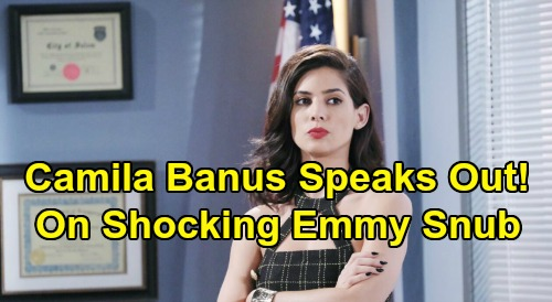 Days of Our Lives Spoilers: Camila Banus Speaks Out On Daytime Emmy Snub - Gabi DiMera Actress Gets Huge Fan Support