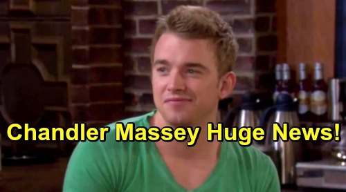 Days of Our Lives Spoilers: DOOL Star Chandler Massey Shares Exciting News – Incredible Adventure Brings Huge Accomplishment