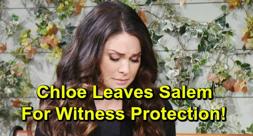 Days of Our Lives Spoilers: Nadia Bjorlin's Exit Story - Stalker Drives Chloe Out Of Salem Into Witness Protection?