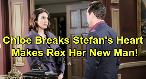 Days of Our Lives Spoilers: Chloe Breaks Stefan's Heart – Leaves Twisted DiMera For Rex
