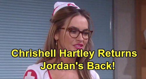 Days of Our Lives Spoilers: Chrishell Hartley Returns as Jordan Ridgeway – Ben Fears for Ciara's Safety After Sister's Release