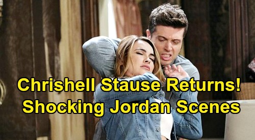 Days of Our Lives Spoilers: Chrishell Stause Returns as Jordan Ridgeway – Horrifying Final Showdown Flashbacks with Evan