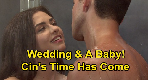 Days of Our Lives Spoilers: Ben & Ciara's Reunion, 2020 Engagement & Wedding Ahead - 'Cin' Baby Plans?
