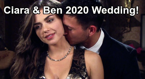 Days of Our Lives Spoilers: Ciara & Ben Wedding in 2020 – Ciara Is Ben's Hero, 'Cin' Blissful New Chapter