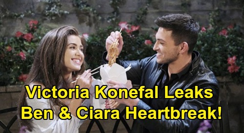 Days of Our Lives Spoilers: Victoria Konefal Teases Big Trouble for Ciara & Ben - 'Cin' Heartbreak, 'Serious Challenges' Ahead
