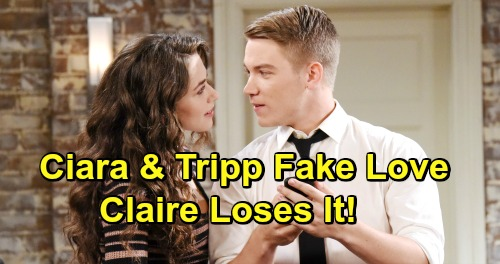 Days of Our Lives Spoilers: Claire Goes Ballistic Over Ciara and Tripp's Reunion – Shocking Setup Catches Firestarter