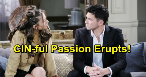 Days of Our Lives Spoilers: CIN-ful Passion Erupts - Ben and Ciara Couple Shares Steamy Moment Together