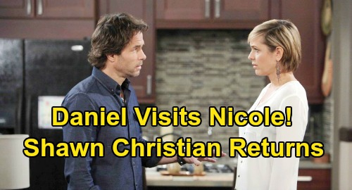 Days of Our Lives Spoilers: Daniel Jonas Back from the Dead, Shawn Christian Returns – Nicole Stunned by Blast from the Past