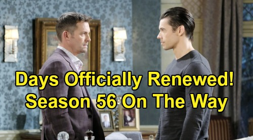Days of Our Lives Spoilers: DOOL Officially Renewed for 56th Season – Fans Celebrate, Much More Drama to Come in Salem