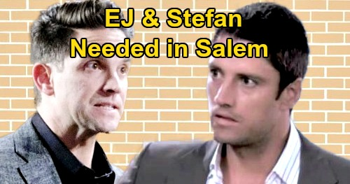Days of Our Lives Spoilers: EJ and Stefan Needed in Salem – DOOL Fans Want Popular DiMera Comebacks and Brother Battles