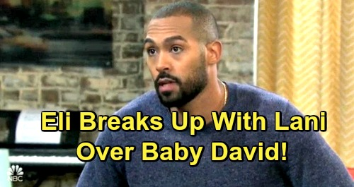Days of Our Lives Spoilers: Eli Breaks Up With Lani Over Baby David - Bond With Rafe Turns to Romance?