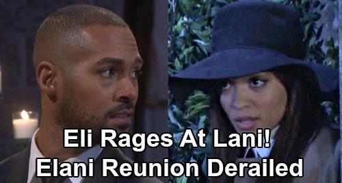 Days of Our Lives Spoilers: Eli Unleashes Shocking Fury on Lani, Betrayed Over Gabi Secrets – 'Elani' Reunion Derailed