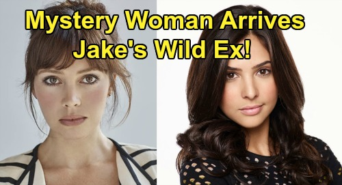 Days of Our Lives Spoilers: Mystery Woman Arrives in Salem – Will Jake's Wild Ex Start War with Gabi, Fight For Stefan?
