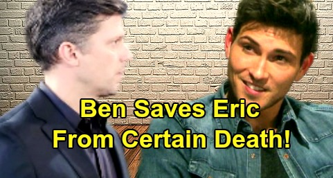 Days of Our Lives Spoilers: Ben Saves Eric from Deadly Gunshot – Final Hurdle Cleared to Eric and Nicole's Reunion