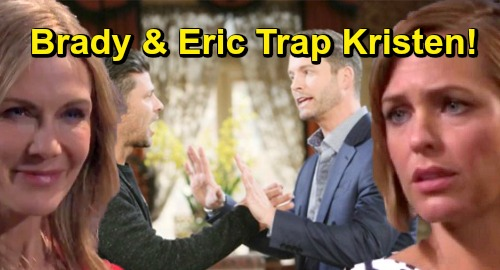 Days of Our Lives Spoilers: Eric and Brady Uncover Kristen's Secret, Set Trap for 'Nicole' – Furious Brothers Team Up