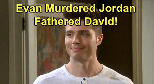 Days of Our Lives Spoilers: Evan's True Colors Horrify Sonny - Fell for Jordan's Murderer, David Ridgeway's Father
