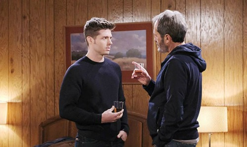Days of Our Lives Spoilers: Monday, March 16 – Xander Proposes To Sarah – Evan Meets Papa Orpheus - Nicole's Baby Swap Proof