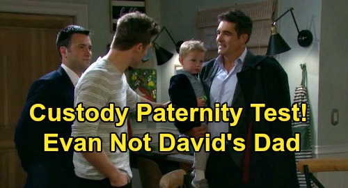 Days of Our Lives Spoilers: Evan's Not David's Biological Father - Rafe Custody Case Paternity Test Shocker?