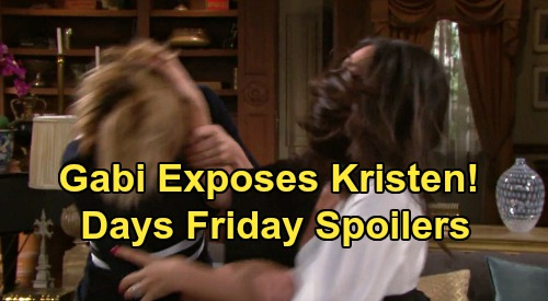 Days of Our Lives Spoilers: Friday, August 16 – Gabi Unmasks Nicole in Brutal Battle – Stefan and Gabi Knocked Out Cold