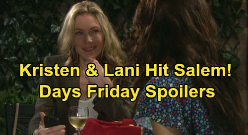 Days of Our Lives Spoilers: Friday, December 27 – Nicole Stuns Brady with Kiss – Kristen & Lani Back in Salem – Gabi Faces Sneak Attack