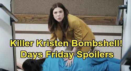 Days of Our Lives Spoilers: Friday, January 24 – Killer Kristen Rocks Brady – Abigail Finds Dead Haley, JJ Gets Tragic News