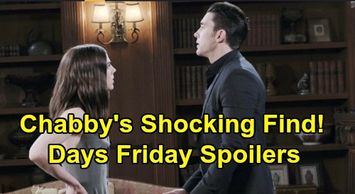 Days of Our Lives Spoilers: Friday, January 31 – Xander's Frantic Request Stuns Brady – Eric Kisses Sarah – Chad & Abigail's Discovery
