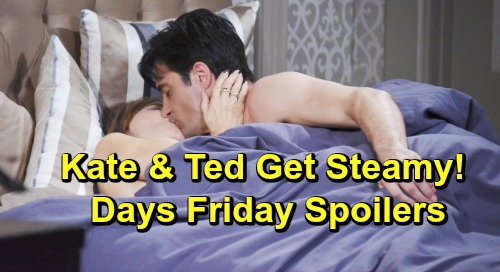 Days of Our Lives Spoilers: Friday, July 5 – Hope Grills Guilty Xander – Brady and Rex's Suspicions Grow – Kate and Ted Get Steamy
