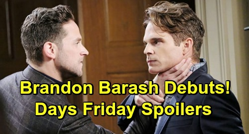 Days of Our Lives Spoilers Friday, March 22: Claire Goes Ballistic – Brandon Barash Debuts as Stefan – Brady's Dirty Trick Pays Off