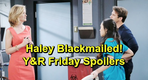 Days of Our Lives Spoilers: Friday, May 10 – Xander Spies Brady Comforting Nicole – Haley Blackmailed – Maggie's Close Call