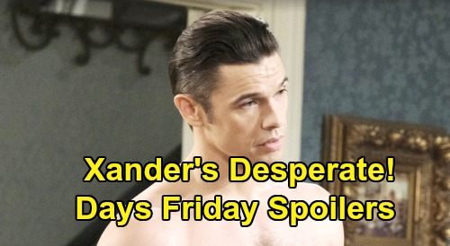 Days of Our Lives Spoilers: Friday, October 11 – Gabi Makes Julie's Family Beg – Xander's Desperate to Stop Sarah