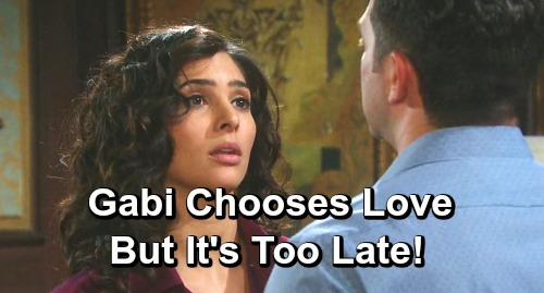 Days of Our Lives Spoilers: Gabi Chooses Love Too Late – Stefan Discovers Original Plan and Explodes Anyway