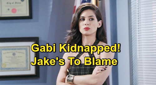 Days of Our Lives Spoilers: Gabi Kidnapped by Mysterious Boss, Jake Freaks – Ben & Ciara Face Hostage Shocker