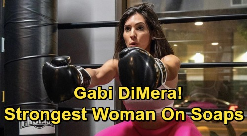 Days of Our Lives Spoilers: Is Gabi DiMera The Strongest Woman On Soaps? - Camila Banus Stands Out