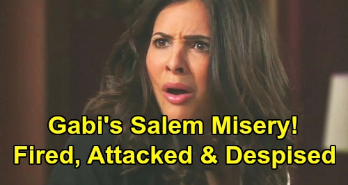 Days of Our Lives Spoilers: Gabi Can't Escape Misery – Fired, Attacked and Despised After Mickey Plea Deal Freedom