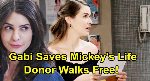 Days of Our Lives Spoilers: Gabi Infuriates Salem, Trades Mickey's Life for Freedom – Bone Marrow Donor Match Makes Deal