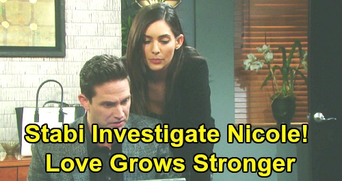 Days of Our Lives Spoilers: Stefan and Gabi Investigate 'Nicole' With Surprising Results - Stabi Love Grows Stronger