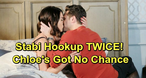 Days of Our Lives Spoilers: Stefan and Gabi Hook Up TWICE – 'Stabi' Gets Red Hot, Chloe Can't Compete