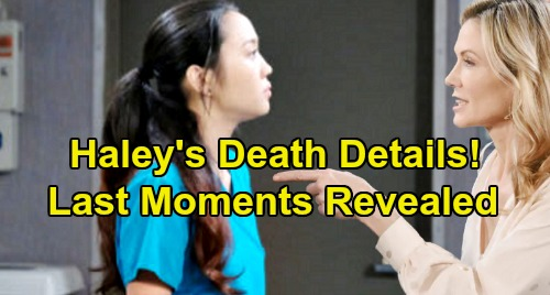 Days of Our Lives Spoilers: Haley's Death Details - Horrifying Last Moments Revealed - Kristen's Terrible Guilt