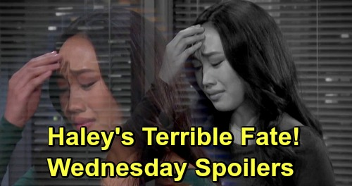 Days of Our Lives Spoilers: Wednesday, May 15 – Raging JJ Physically Attacks Jack – Haley's Terrible Fate – Rafe Signs Divorce Papers
