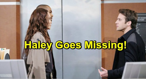 Days of Our Lives Spoilers: JJ Frantically Searches for Missing Haley – Tripp Offers Hideout After Secret Explodes